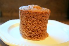 Pumpkin MIM (Muffin in a Minute).  Mmmmm.  Add cream cheese!