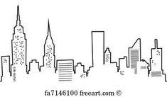 New York City Skyline Nyc Empire State Chrystler
