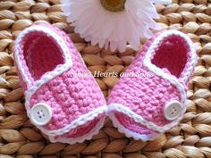 Sweet pink handmade crochet baby sport sandals are perfect for warming Spring days!  Cute with Easter dresses or t-shirts and shorts alike!
