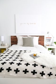 Here's a roundup of bedroom DIY solutions that store the necessities, get the lighting up on the walls, and add a dash of style to tiny bedrooms.