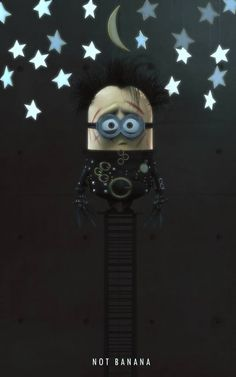 Minion Scissorhands Any Enriquez-numerik.jpg