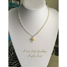 """""""Angelic Love"""" - Necklace with magnetic clasp. $36.00"""