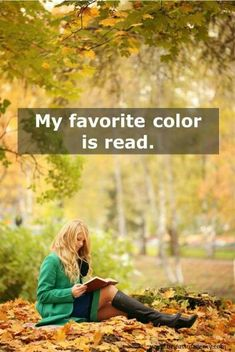 I love to read but I wouldn't sit on the ground due to no back support, spiders, ants, bugs in general!