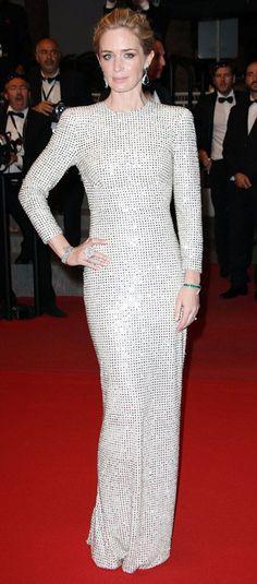 Emily Blunt in Stella McCartney - Cannes 2015