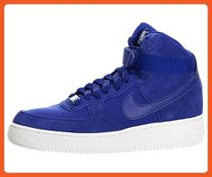 Nike Air Force 1 High Big Kids Style Shoes : 653998, Deep Royal Blue/Deep Royal Blue, 6.5 - Sneakers for women (*Amazon Partner-Link)