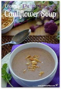 Creamy Purple Caulif