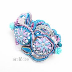 Romantic Turquoise Bracelet di archidee su Etsy, €60.00