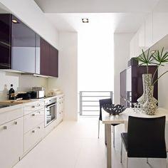   Galley kitchens   Kitchen design ideas   PHOTO GALLERY   Beautiful Kitchens   Housetohome.co.uk