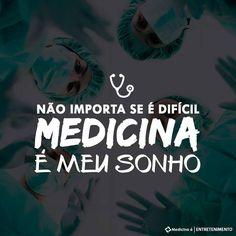 """6,689 curtidas, 97 comentários - Medicina é (@paginamedicinae) no Instagram: """"I HAVE A DREAM"""""""