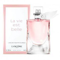 Nuevo #perfume para mujer de #Lancome La Vie Est Belle L´eau de toilette Florale