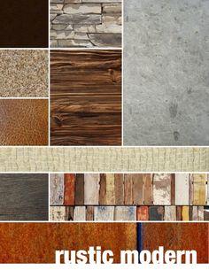 Rustic modern palette