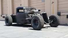 Rat Rod of the Day! - Page 55 - Rat Rods Rule / Undead Sleds - Hot Rods, Rat Rods, Beaters & Bikes. Rat Rod Cars, Hot Rod Trucks, Cool Trucks, Big Trucks, Cool Cars, Pickup Trucks, Rat Rod Pickup, Truck Drivers, Dodge Trucks