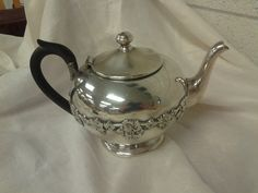W M Rogers E P W M 1047 Silver Plated Teapot by EastIdahoCompany, $59.99