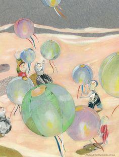 Anna Castagnoli Anna, Collage, Magic Realism, Children's Picture Books, Illustrations And Posters, Children's Book Illustration, Painting & Drawing, Childrens Books, Illustrators