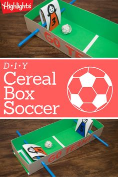 Kids get to draw their own soccer players (themselves or their favorite players) and make it a one-on-one game. The game is also great for playing in the car, whether you're on your way to soccer camp or not.