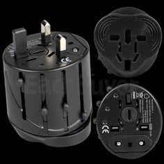 Universal AC Power UK AU US EU Plug Converter