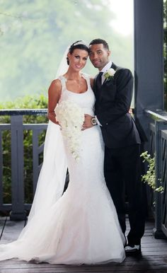 Jermaine Pennant and Alice Goodwin's wedding day