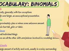 """A binomial pair is an expression containing two words which are joined by a conjunction (usually """"and"""" or """"or""""). The word order of a binomial pair is usually fixed."""
