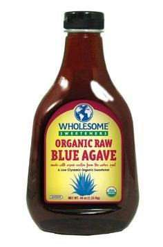 Wholesome Sweeteners Agave Blue Raw Org -- Don't get left behind, see this great  product