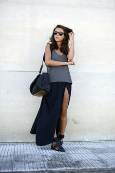 Girissima skirt, Zara shoes, Alexander Wang bag, Ray Ban sunnies