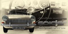 Opel Kadett A Spider by Pietro Frua in antique colors by aRi F.