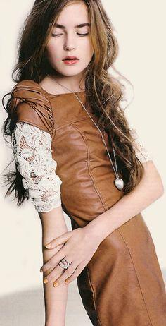 Farb-und Stilberatung mit www.farben-reich.com - Leather & Lace