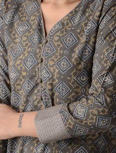 Simple Kurta Designs, Stylish Dress Designs, Kurta Designs Women, Salwar Designs, Kurti Designs Party Wear, Sleeves Designs For Dresses, Neck Designs For Suits, Neckline Designs, Dress Neck Designs