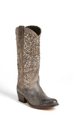 Sparkly studded boots? Yes, please!