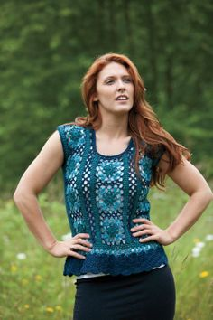 Seaside Tank By Tammy Hildebrand - Purchased Crochet Pattern - (craftsy)