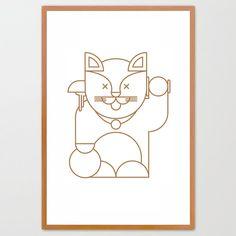 Lucky Cat, by Yeti