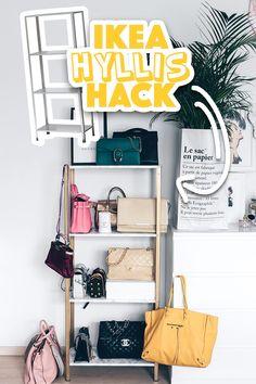 IKEA Hyllis Hack: Meine DIY Taschen Aufbewahrung Im Ankleideraum!