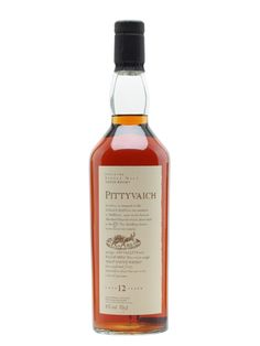 Pittyvaich 12 Year Old Scotch Whisky : The Whisky Exchange