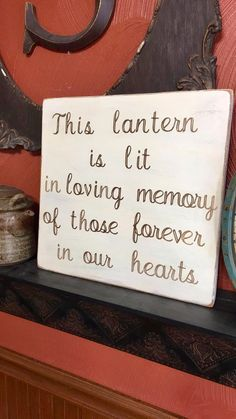 Display sign for a wedding to remember your loved ones ❤️