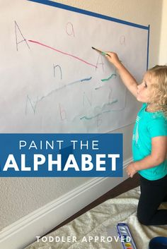 Paint the Alphabet- Toddler & Preschooler Matching Game using watercolors! Learning Letters, Alphabet Activities, Preschool Learning, Reading Activities, Toddler Preschool, Preschool Activities, Matching Games For Toddlers, Kids Behavior, Baby Girl Names