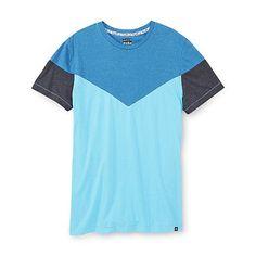Always Push Forward Men's Seamed T-Shirt - Heathered Colorblock