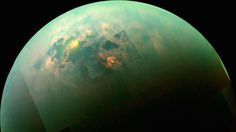The Cassini mission is sending us better and better data and images of just what's happening on the surface of Saturn's moon Titan. And it's beginning to look awfully familiar...