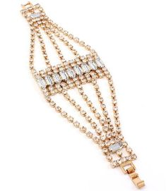 Clear Rhinestone Bracelet Z9 Multi Strand Prong Set Gold ... https://www.amazon.com/dp/B00BY7RLG4/ref=cm_sw_r_pi_dp_x_9BJczbG1XJXNA