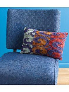 Bruges Bubble Pillow Crochet Pattern Download | Bruges Interweave crochet and Bubbles