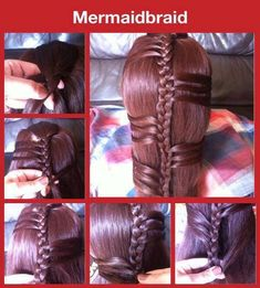 New Easy Style Mermaid-braid For Long Hair