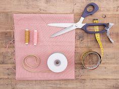 DIY-Anleitung: Haarband mit goldener Borte nähen via DaWanda.com
