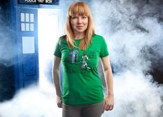 Cute Shirt for people that like Doctor Who & Disney Channel.