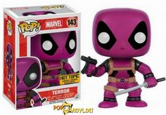Marvel Finish your Deadpool collection here! Hot Topic Exclusive Sticker Perfect for any Deadpool fan! Funko Pop Marvel, Funko Pop Deadpool, Deadpool Stuff, Pop Vinyl Figures, Funko Pop Figures, Daddy Yankee, Legos, Funko Pop Chase, Chibi
