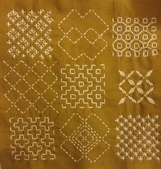sashiko and other stitching: sashiko