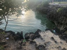 Cliff diving area Bantayan Island, Cliff Diving, River, Outdoor, Outdoors, Rivers, The Great Outdoors