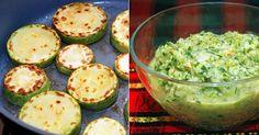 Különleges cukkinikrém Guacamole, Zucchini, Delish, Paleo, Vegan, Vegetables, Ethnic Recipes, Food, Interiors