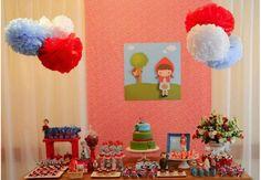 Mais de 30 ideias para montar uma festa de Chapeuzinho Vermelho!  : Mil dicas de mãe