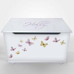 Personalised Toy Box For Girls