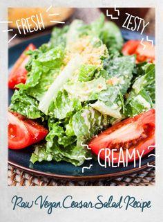 Make This Tonight: A Raw Vegan Caesar Salad That Won't Disappoint - mindbodygreen.com