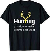 074571c77f Deer Hunting Best Shoot T-Shirt Deer Hunting T-Shirt Deer Hunting Games,