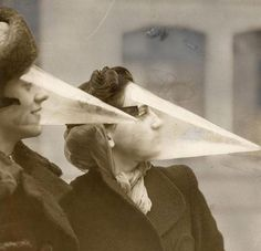Face protector for snow storms – once sold in Canada hehehe you would need to wear it almost constantly these days.